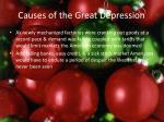 causes of the great depression15