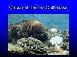 crown of thorns outbreaks