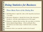 doing statistics for business26