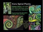 koru spiral plants3