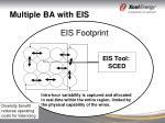 multiple ba with eis