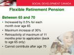 flexible retirement pension2