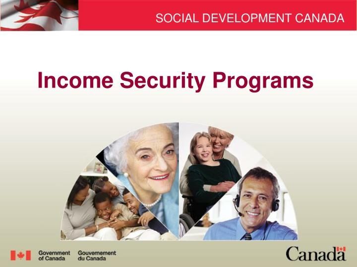 income security programs n.