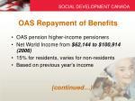 oas repayment of benefits