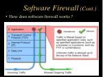 software firewall cont