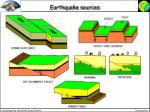 earthquake sources