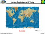 nuclear explosions until today
