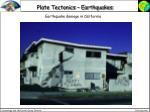 plate tectonics earthquakes