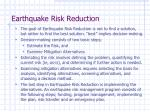 earthquake risk reduction19