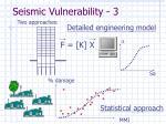 seismic vulnerability 3