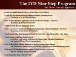 the iyd nine step program
