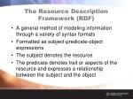 the resource description framework rdf