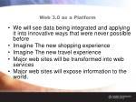 web 3 0 as a platform