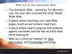 web 3 0 as the semantic web