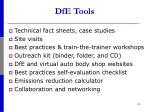 dfe tools