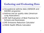 gathering and evaluating data