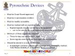 pyrotechnic devices