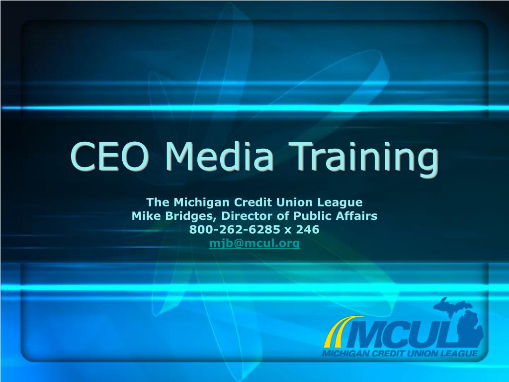 ceo media training l.