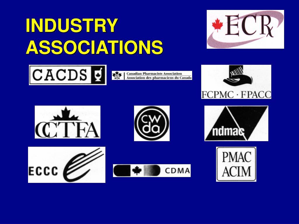 industry associations l.