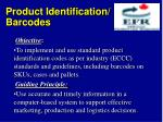 product identification barcodes