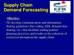 supply chain demand forecasting