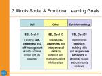 3 illinois social emotional learning goals