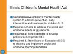 illinois children s mental health act
