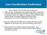 care coordination conference33