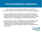 care coordination conference34