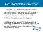 care coordination conference35