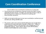 care coordination conference36