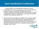 care coordination conference37