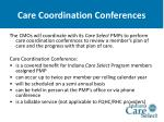 care coordination conferences