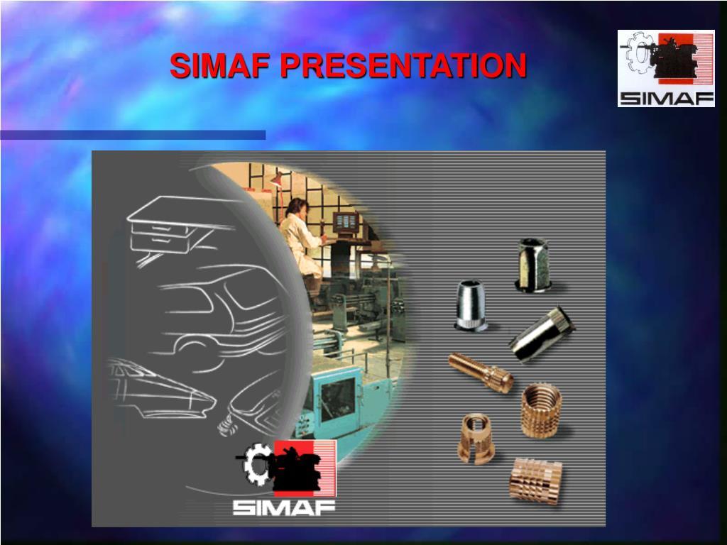 simaf presentation l.
