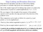 edge linking and boundary detection