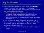 key attachments
