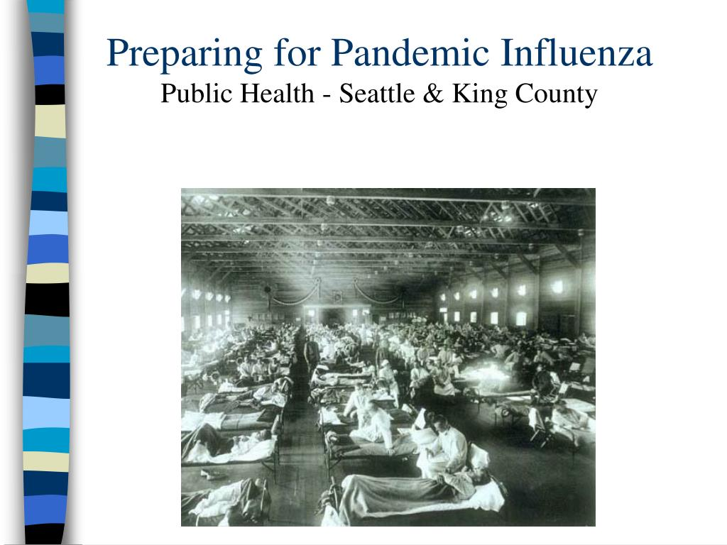 preparing for pandemic influenza public health seattle king county l.