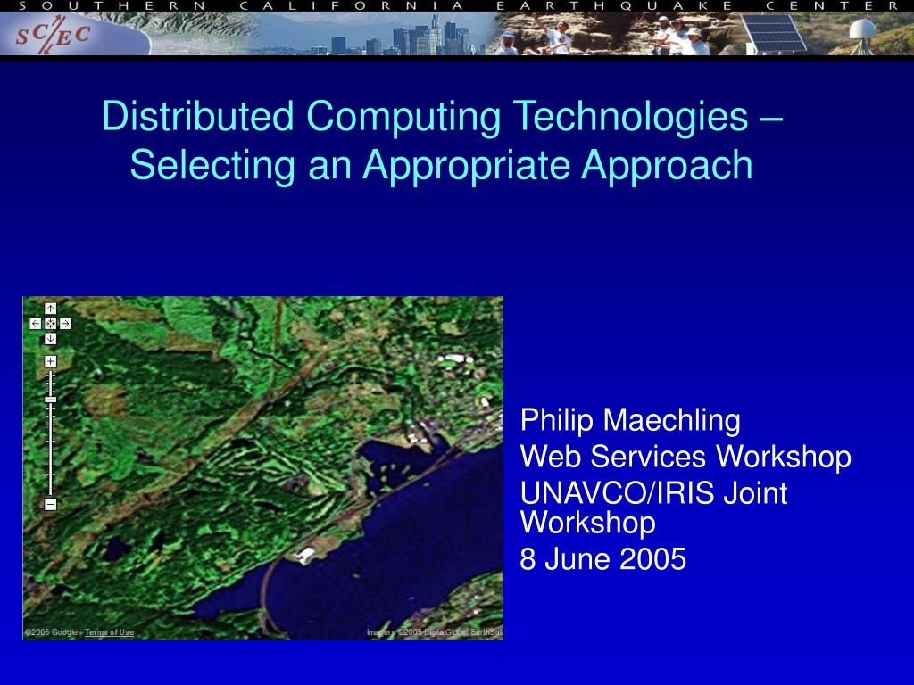 distributed computing technologies selecting an appropriate approach l.