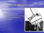theory of sailing31