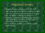 magellan s journey