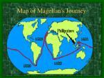 map of magellan s journey