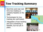 tow tracking summary