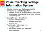 vessel tracking lockage information system