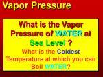 vapor pressure6