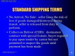 standard shipping terms18