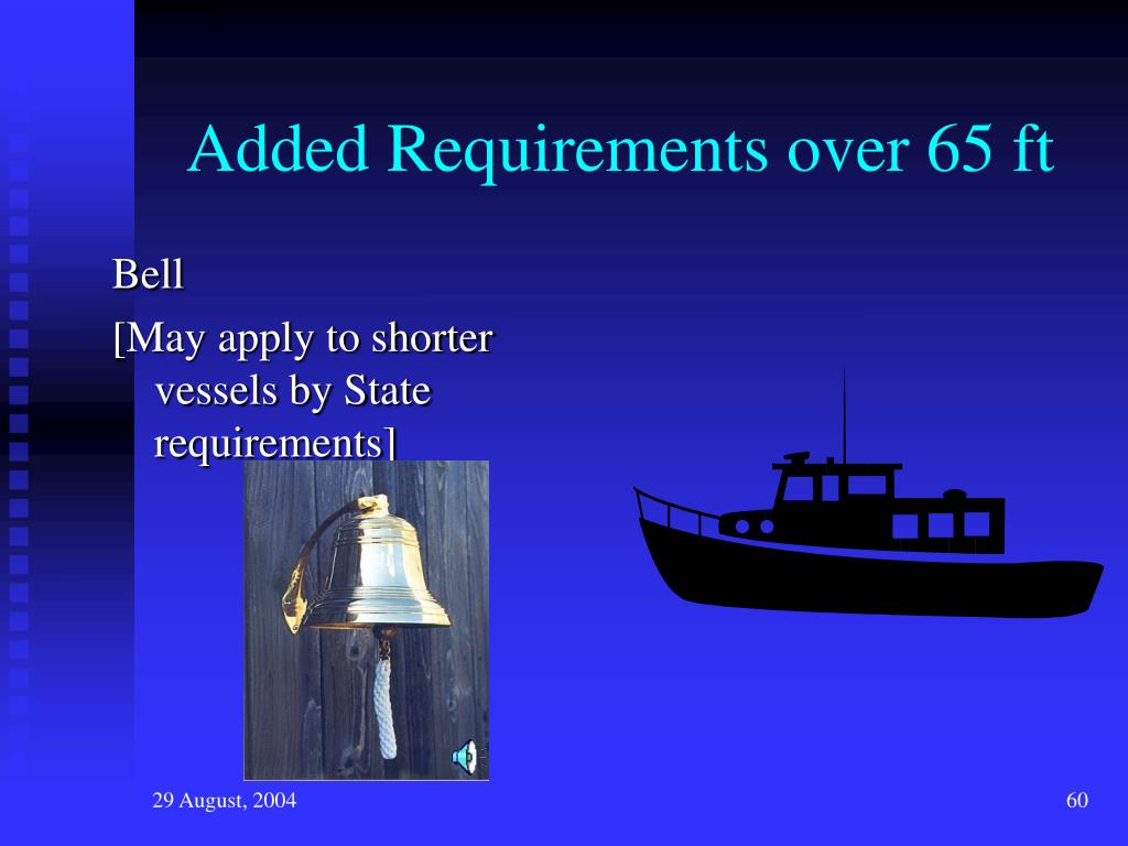Added Requirements over 65 ft