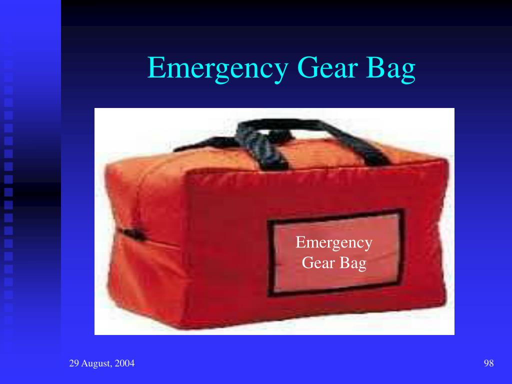 Emergency Gear Bag