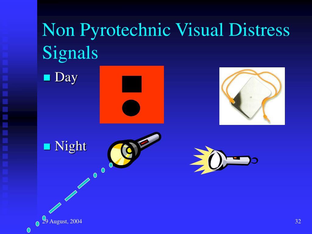 Non Pyrotechnic Visual Distress Signals