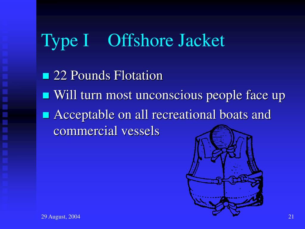Type I    Offshore Jacket