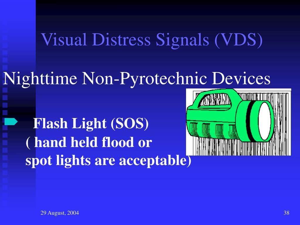 Visual Distress Signals (VDS)